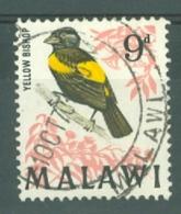 Malawi: 1968   Birds   SG315    9d    Used