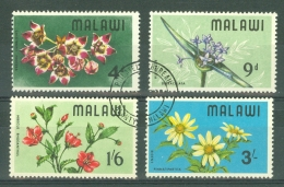 Malawi: 1968   Wild Flowers    Used