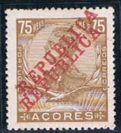 Açores, 1911, # 128, Erro, MH