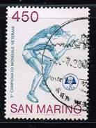 San Marino 1986, Michel# 1343 O Sporting Events In San Marino - Tischtennis