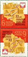 USSR 1964. 2980 (3072) 20 YEARS OF THE POLISH PEOPLE'S REPUBLIC - Fabbriche E Imprese