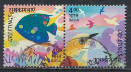 °°° INDIA - Y&T N°1751/52 - 2003 °°°