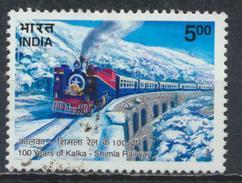 °°° INDIA - Y&T N°1757 TRAIN - 2003 °°°