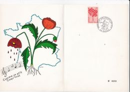 IXe Congrès De L'Union Nat. Des Donneurs De Sang Bénévolesdes P.T.T. - Premier Jour 5 Mai 1972 - Ohne Zuordnung