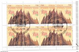 ITALIA REPUBBLICA 1996 - LIBRETTO - ITALIA '98 Annullo 1° Giorno - 1946-.. République