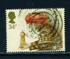 GREAT BRITAIN  -  1984  Christmas  34p  Used As Scan - Gebruikt
