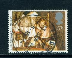 GREAT BRITAIN  -   1985  Arthurian Legends  17p  Used As Scan - Gebruikt