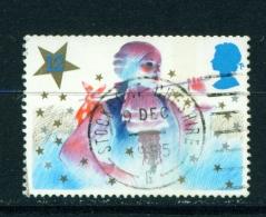 GREAT BRITAIN  -   1985  Christmas  12p  Used As Scan - Gebruikt