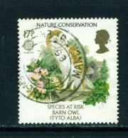 GREAT BRITAIN  -   1986  Europa  Endangered Species  17p  Used As Scan - Gebruikt