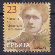 Serbia 2017 Mileva Maric Einstein, Sciences, Definitive Stamp MNH