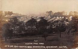 (I)- HEATON PARK CAMP. CITY BATTALIONS MANCHESTER REGIMENT A.D. 1914 - Guerra 1914-18