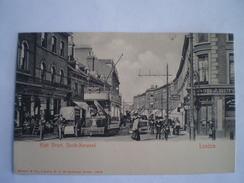 London SOUTH NORWOOD High Street Tram L94 (very Animated) Ca 1899 RARE - London Suburbs