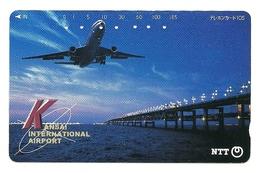 Giappone - Tessera Telefonica Da 105 Units T230 - NTT, - Avions