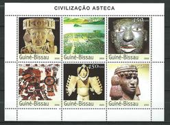 Guinea Bissau / Guinée-Bissau 2003 Cultures Of The Past - Aztec.Mexico. S/S.MNH