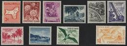 CHRISTMAS ISLAND: 1963 Pictorial Set Complete, SG 11-20 Superb UM