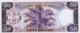 LIBERIA P. 29b 50 D 2004 UNC - Liberia