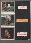 Catalogue VELOMOTEURS Et MOTOS PEUGEOT 1955 (CAT 661) - Transports