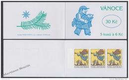 Czech Republic - Tcheque 1998 Yvert C195 Christmas - Booklet - MNH - Czech Republic