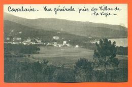 """CPA Cavalaire """" Vue Générale , Prise Des Villas De La Vigie """" LJCP 32 - Cavalaire-sur-Mer"""