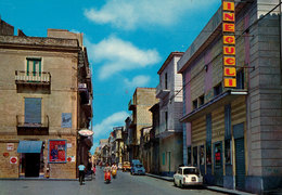 BARRAFRANCA - ENNA: CORSO GARIBALDI - CINEMA CINEGUELI - Enna