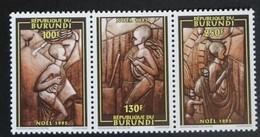 Burundi 1995 OCBn° 1071-1073 *** MNH Cote 10,00 Euro Noël Kerstmis Christmas