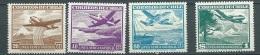 Chili - Aerien  -  Yvert N° 128 / 131  4 Valeurs ** Cw 22702b - Chili