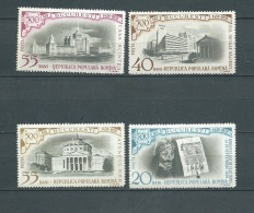 Roumanie    -  Yvert N° 1637 / 1640  -    4 Valeurs ** Cw 22703i