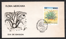Mexiko 1983, FDC: Mexikan. Flora, Sukkulente / Mexico 1983, FDC: Flora Of Mexico, Sukkulente