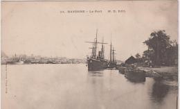 BAYONNE LE PORT PRECURSEUR TBE - Bayonne