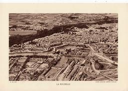 CHARENTE MARITIME, LA ROCHELLE, Vue Générale, Planche Densité = 200g, Format 20 X 29 Cm, (C.A.F.) - Géographie