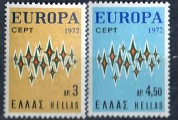 PIA - GRECIA - 1972 : Europa - (Un 1084-85) - Europa-CEPT