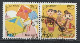 °°° INDIA - Y&T N°1820/21 - 2004 °°°