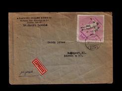 Hungary Feicing Escrime Cover 1965 Sports Sp4343