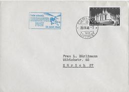1.SCHW.HELICOPTER-POST → Brief Zürich-Zürich 23.Sept.1948   ►SBK-282◄