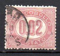 1875 - Serie Servizio Timbrato N. 1  Used - 1861-78 Vittorio Emanuele II