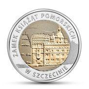 POLONIA POLAND 5 ZLOTY 2016 POMORSKICH FDC UNC - Polonia