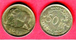 §50 FRANCS   ( KM 37) TTB  135 - Congo (Belga) & Ruanda-Urundi