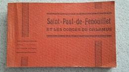 SAINT PAUL DE FENOUILLET CARNET DE 15 CARTES  EDITION PAYRET - Autres Communes