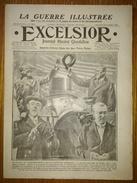 Excelsior N°2189 12/11/1916 Wilson Président - Guynemer - Macédoine - Sur Le Chemin De Bapaume - Saillisel - Journaux - Quotidiens