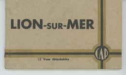 LION SUR MER - Carnet Complet De 12 CPA