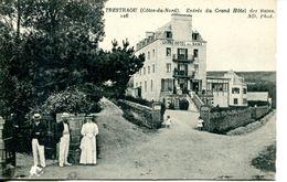 N°38377 -cpa Trestraou -entrée Du Grand Hôtel Des Bains- - Autres Communes