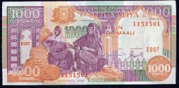 SOMALIA : 1000 Scellini - 1996 - UNC - Somalia