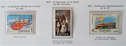 EMISSIONS 1973 - NEUFS ** - YT 1799/00 + 1813 - 1931-Aujourd'hui: II. République - ....Juan Carlos I