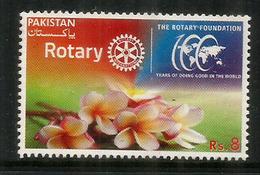 Centenaire Du Rotary Au Pakistan, Un Timbre Neuf **