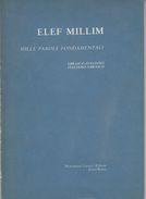 ELEF MILLIM - Mille Parole Fondamentali Di Nello Pavoncello - Corsi Di Lingue