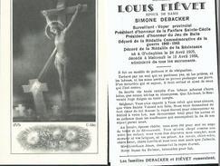 Mainvault-Monsieur Louis Fievet - Obituary Notices