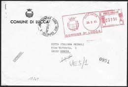 Italia/Italy/Italie: Ema, Meter, Espresso, Express, Stemma Di Città, City Coat Of Arms, Armoiries De Ville