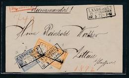 Landshut Brief Vorderseite - Paar  14...  ( G8096  ) Siehe Foto