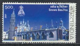 °°° INDIA - SNOWS BASILICA - 2007 °°°