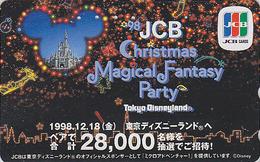 Télécarte Japon / 110-199283 - DISNEY DISNEYLAND - JCB - CHRISTMAS FANTASY - Japan Phonecard Telefonkarte - Disney
